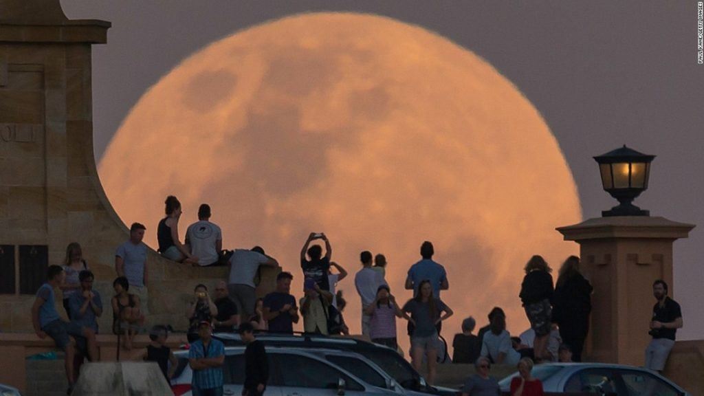 Brightest supermoon since 1948